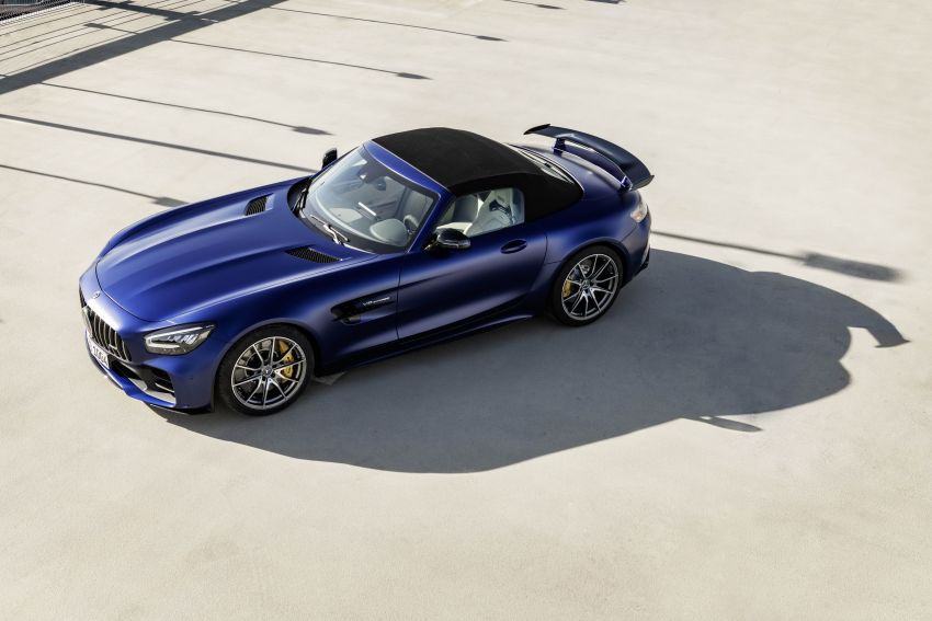 Mercedes-AMG GT R Roadster debuts – only 750 units Image #929346