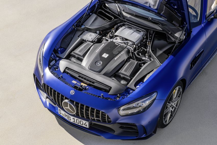 Mercedes-AMG GT R Roadster debuts – only 750 units Image #929445
