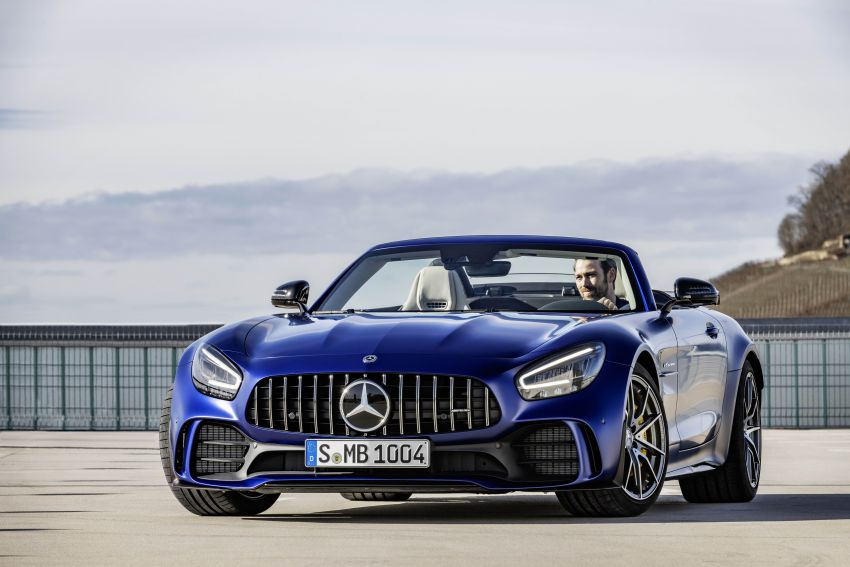 Mercedes-AMG GT R Roadster debuts – only 750 units Image #929352
