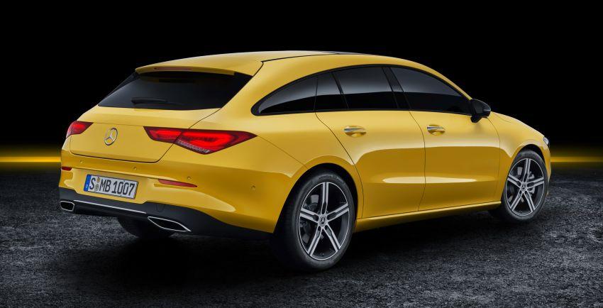 Mercedes-Benz CLA Shooting Brake X118 – model generasi kedua tiba di Geneva, lancar pada September Image #930553