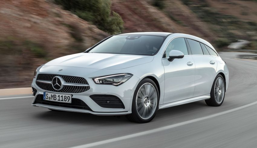 X118 Mercedes-Benz CLA Shooting Brake – second-gen unveiled in Geneva, market entry in September Image #930320