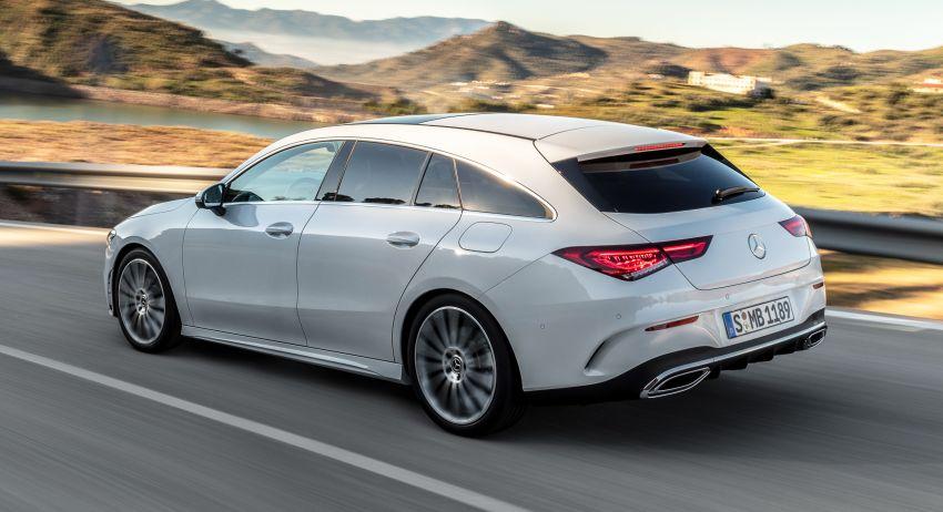 Mercedes-Benz CLA Shooting Brake X118 – model generasi kedua tiba di Geneva, lancar pada September Image #930566
