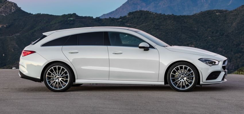 X118 Mercedes-Benz CLA Shooting Brake – second-gen unveiled in Geneva, market entry in September Image #930322