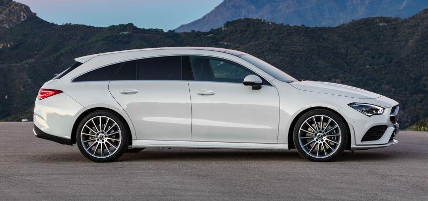 Mercedes-Benz CLA Shooting Brake X118 – model generasi kedua tiba di Geneva, lancar pada September Image #930567