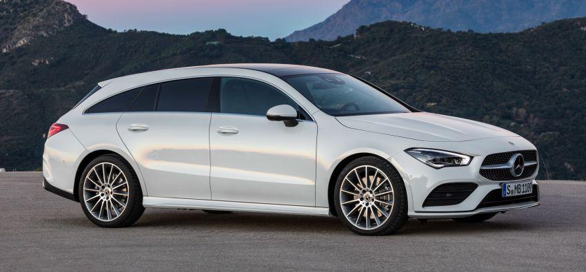 Mercedes-Benz CLA Shooting Brake X118 – model generasi kedua tiba di Geneva, lancar pada September Image #930568