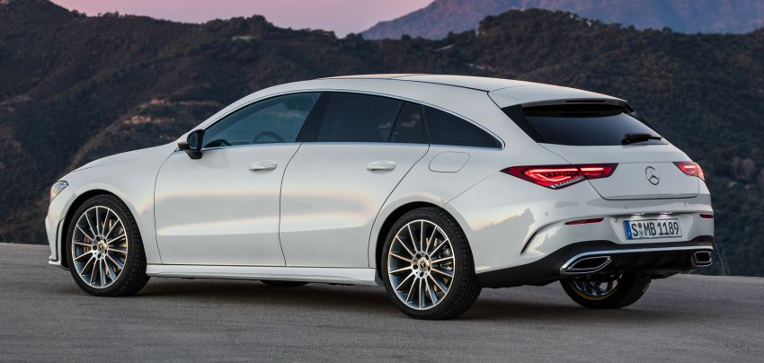 X118 Mercedes-Benz CLA Shooting Brake – second-gen unveiled in Geneva, market entry in September Image #930324