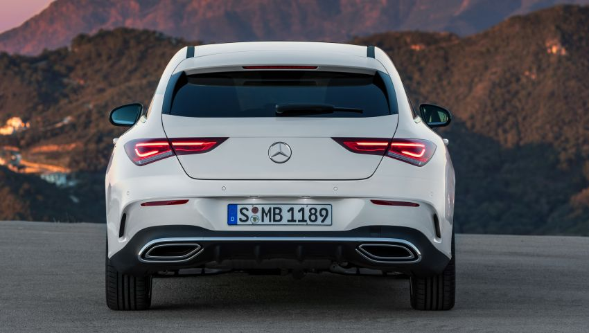 X118 Mercedes-Benz CLA Shooting Brake – second-gen unveiled in Geneva, market entry in September Image #930336