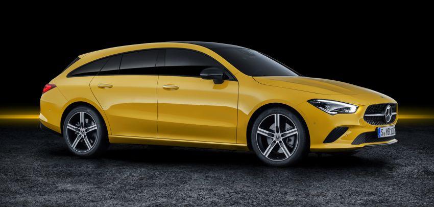 Mercedes-Benz CLA Shooting Brake X118 – model generasi kedua tiba di Geneva, lancar pada September Image #930555