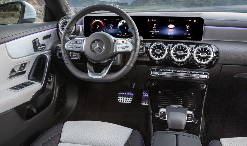 Mercedes-Benz CLA Shooting Brake X118 – model generasi kedua tiba di Geneva, lancar pada September Image #930575