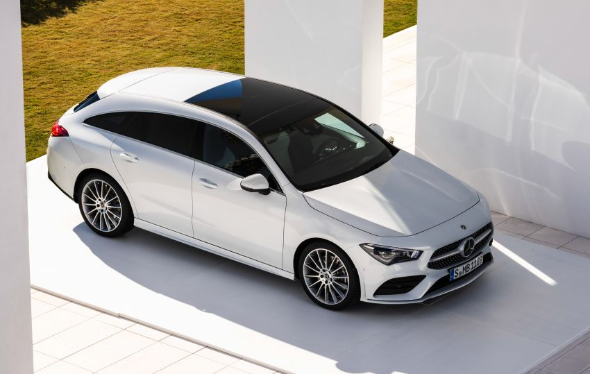 X118 Mercedes-Benz CLA Shooting Brake – second-gen unveiled in Geneva, market entry in September Image #930330