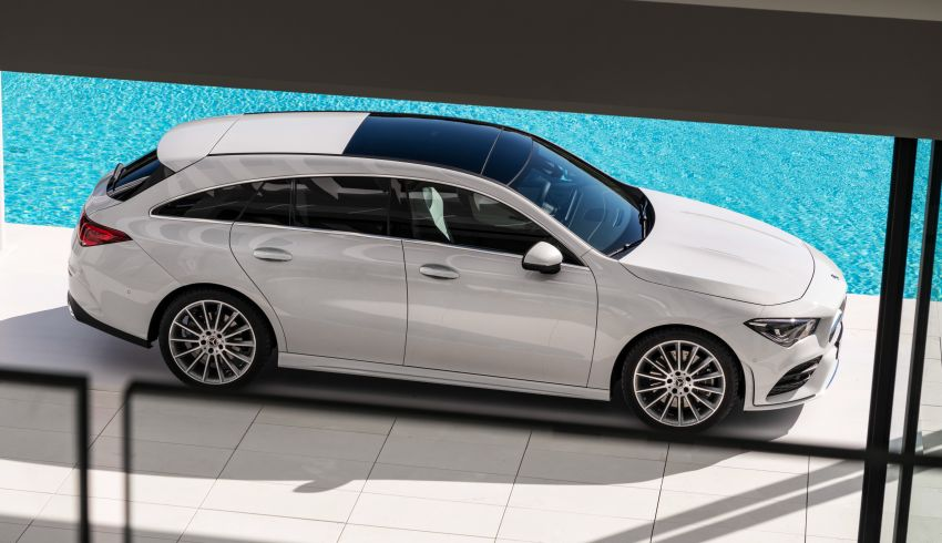 Mercedes-Benz CLA Shooting Brake X118 – model generasi kedua tiba di Geneva, lancar pada September Image #930577