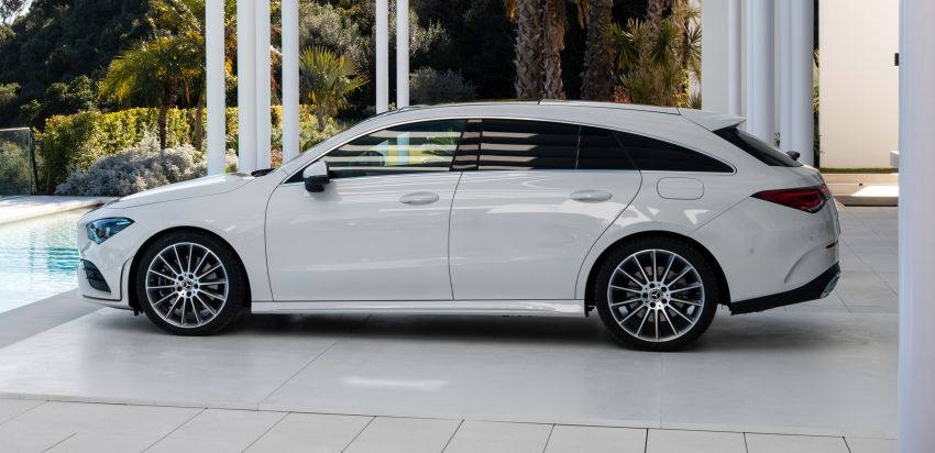 X118 Mercedes-Benz CLA Shooting Brake – second-gen unveiled in Geneva, market entry in September Image #930332