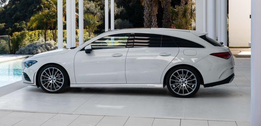 X118 Mercedes-Benz CLA Shooting Brake – second-gen unveiled in Geneva, market entry in September Image #930332