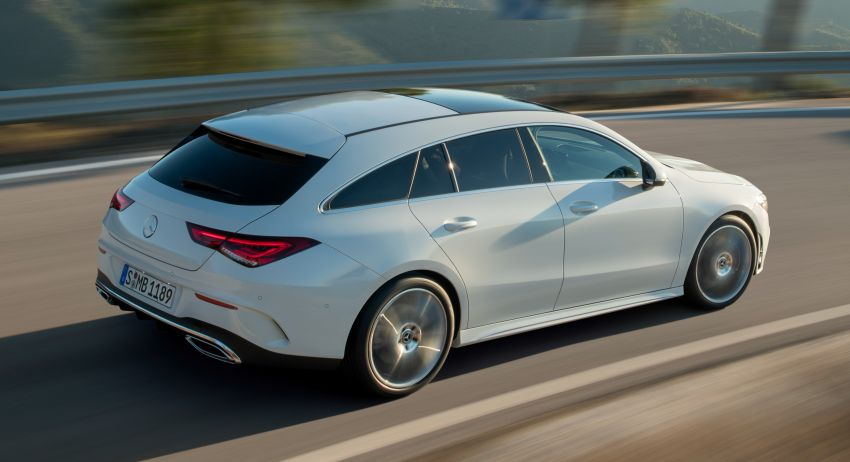 Mercedes-Benz CLA Shooting Brake X118 – model generasi kedua tiba di Geneva, lancar pada September Image #930579
