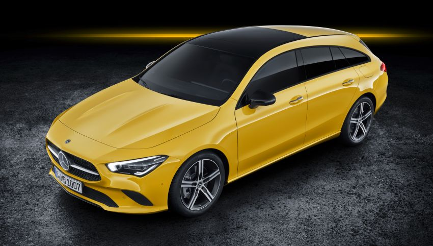 Mercedes-Benz CLA Shooting Brake X118 – model generasi kedua tiba di Geneva, lancar pada September Image #930558