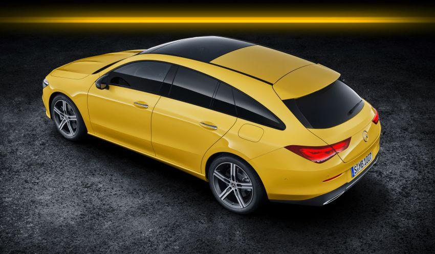Mercedes-Benz CLA Shooting Brake X118 – model generasi kedua tiba di Geneva, lancar pada September Image #930559
