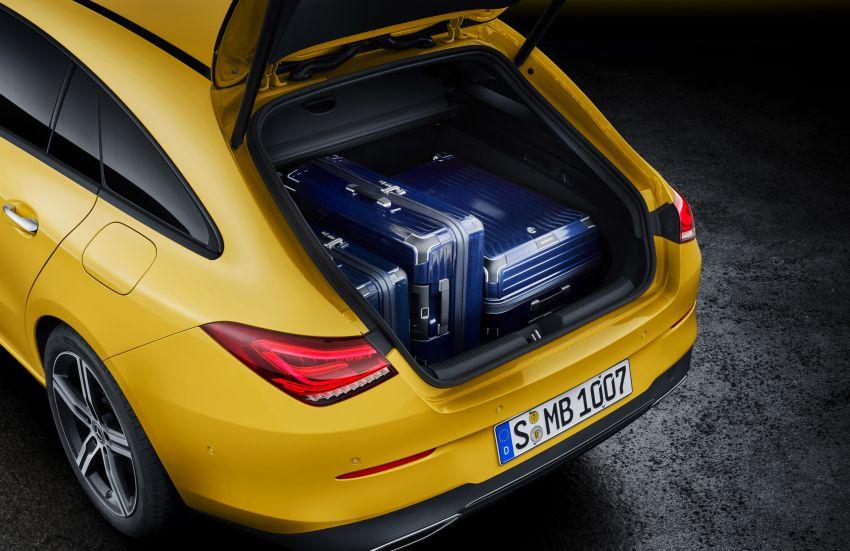 Mercedes-Benz CLA Shooting Brake X118 – model generasi kedua tiba di Geneva, lancar pada September Image #930560