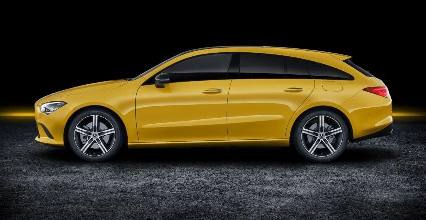 X118 Mercedes-Benz CLA Shooting Brake – second-gen unveiled in Geneva, market entry in September Image #930316