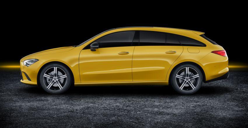 Mercedes-Benz CLA Shooting Brake X118 – model generasi kedua tiba di Geneva, lancar pada September Image #930561