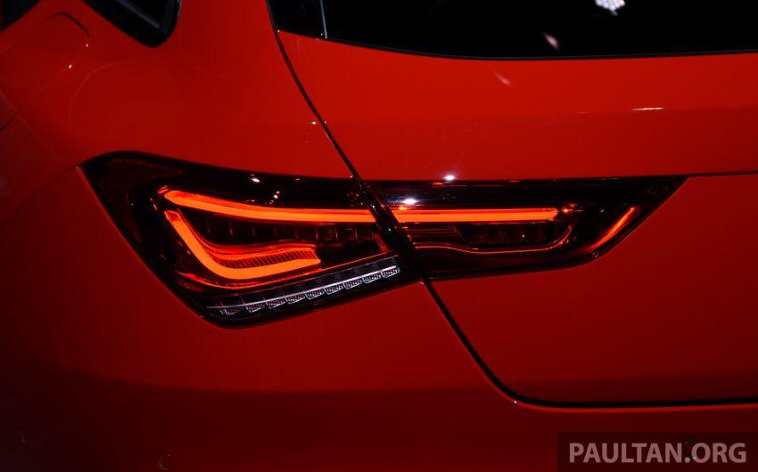 Mercedes-Benz CLA Shooting Brake X118 – model generasi kedua tiba di Geneva, lancar pada September Image #930526