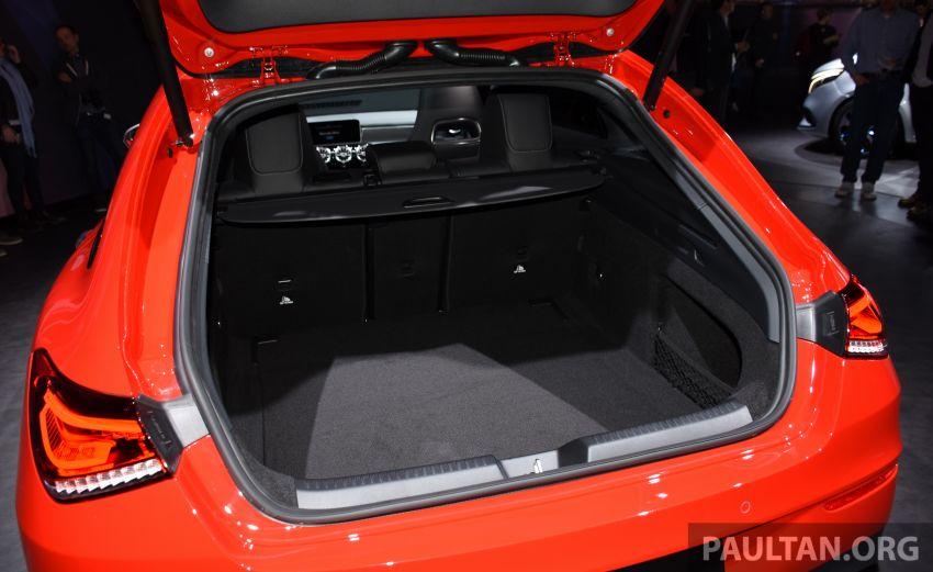 X118 Mercedes-Benz CLA Shooting Brake – second-gen unveiled in Geneva, market entry in September Image #930294