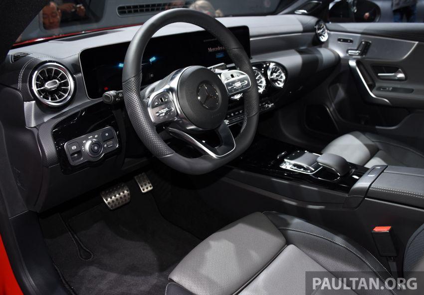 X118 Mercedes-Benz CLA Shooting Brake – second-gen unveiled in Geneva, market entry in September Image #930296