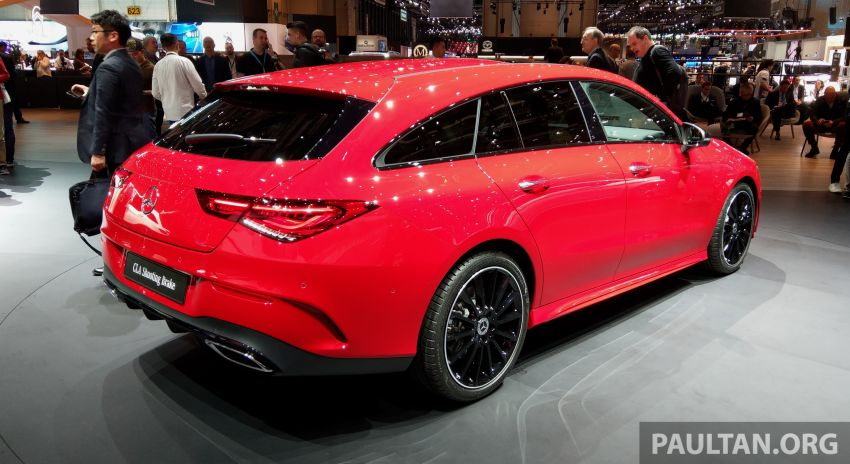 X118 Mercedes-Benz CLA Shooting Brake – second-gen unveiled in Geneva, market entry in September Image #930282