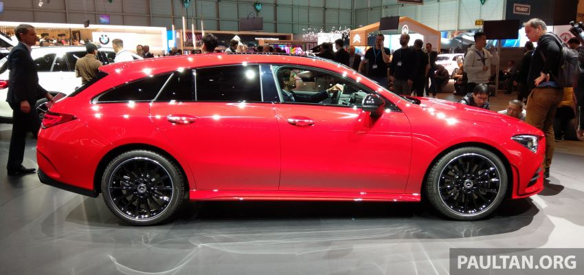 X118 Mercedes-Benz CLA Shooting Brake – second-gen unveiled in Geneva, market entry in September Image #930283