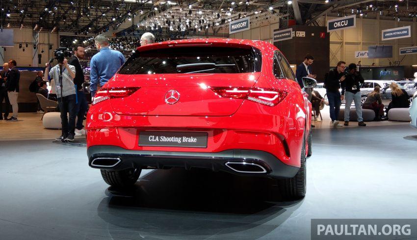 X118 Mercedes-Benz CLA Shooting Brake – second-gen unveiled in Geneva, market entry in September Image #930285