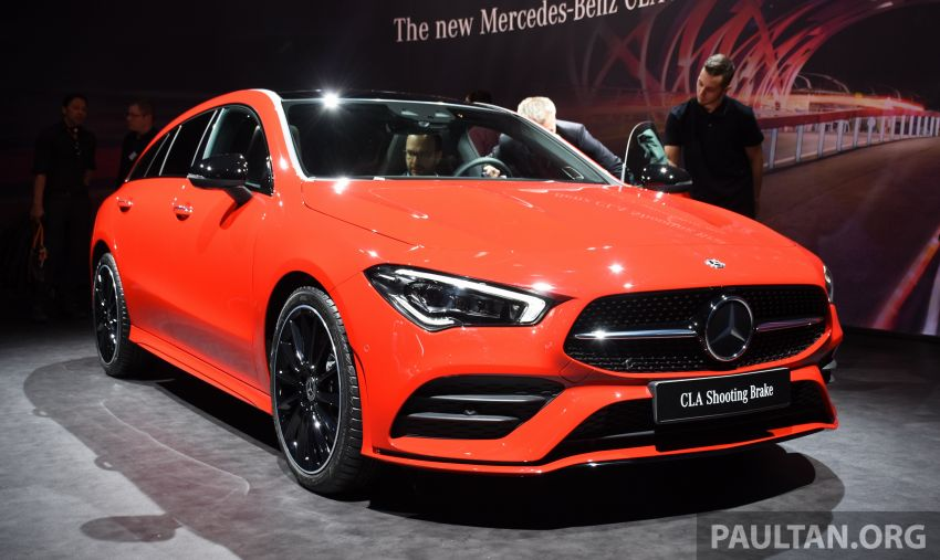 X118 Mercedes-Benz CLA Shooting Brake – second-gen unveiled in Geneva, market entry in September Image #930286