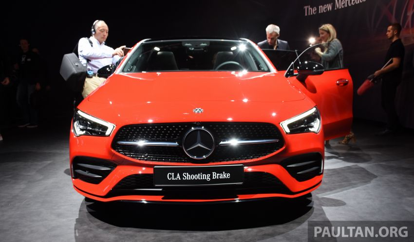 X118 Mercedes-Benz CLA Shooting Brake – second-gen unveiled in Geneva, market entry in September Image #930287