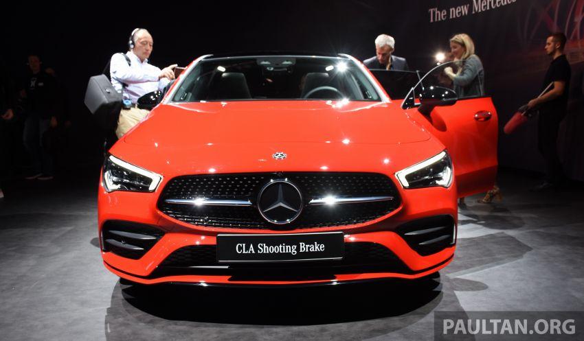 Mercedes-Benz CLA Shooting Brake X118 – model generasi kedua tiba di Geneva, lancar pada September Image #930520