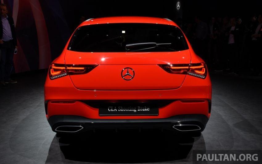 X118 Mercedes-Benz CLA Shooting Brake – second-gen unveiled in Geneva, market entry in September Image #930289