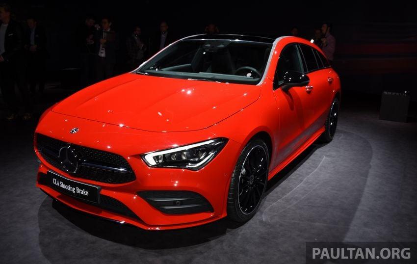 X118 Mercedes-Benz CLA Shooting Brake – second-gen unveiled in Geneva, market entry in September Image #930290