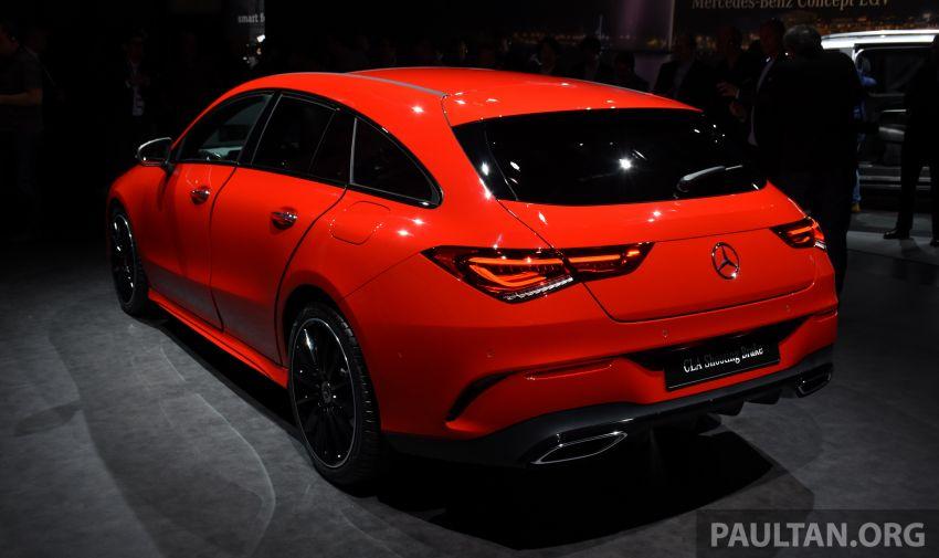 X118 Mercedes-Benz CLA Shooting Brake – second-gen unveiled in Geneva, market entry in September Image #930291