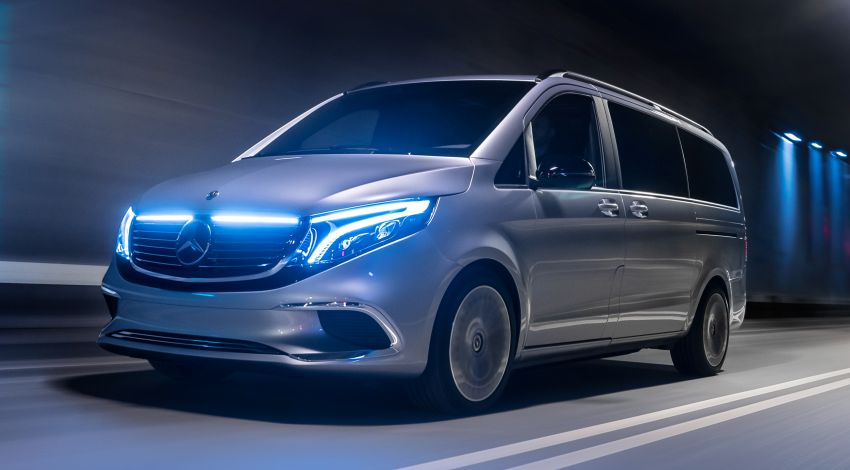 Mercedes-Benz Concept EQV unveiled in Geneva – full-electric MPV with a 400 km operating range Image #929934