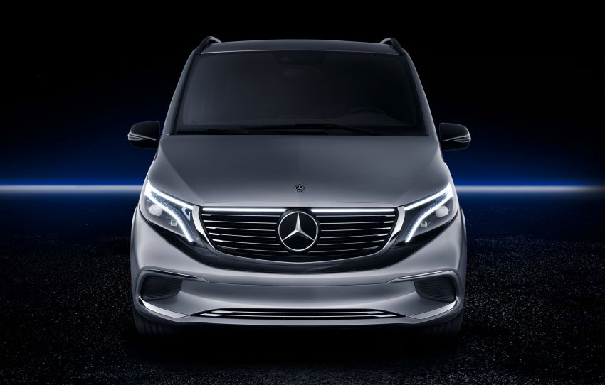 Mercedes-Benz Concept EQV unveiled in Geneva – full-electric MPV with a 400 km operating range Image #929891