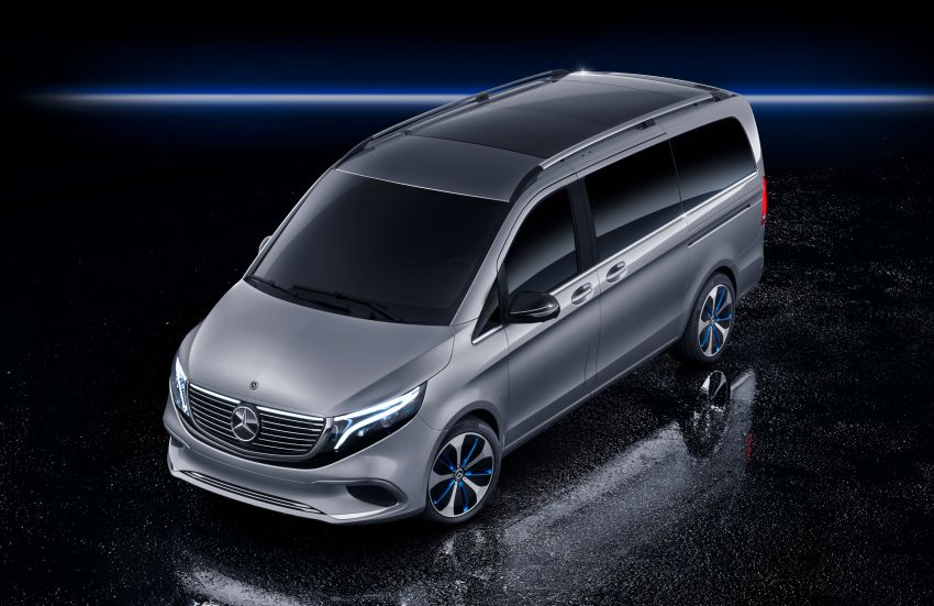 Mercedes-Benz Concept EQV unveiled in Geneva – full-electric MPV with a 400 km operating range Image #929892