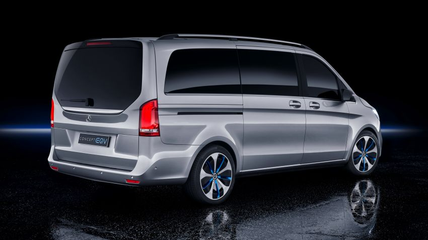 Mercedes-Benz Concept EQV unveiled in Geneva – full-electric MPV with a 400 km operating range Image #929900