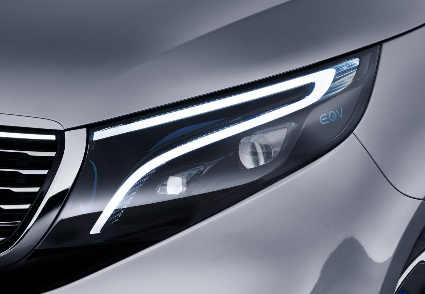 Mercedes-Benz Concept EQV unveiled in Geneva – full-electric MPV with a 400 km operating range Image #929908
