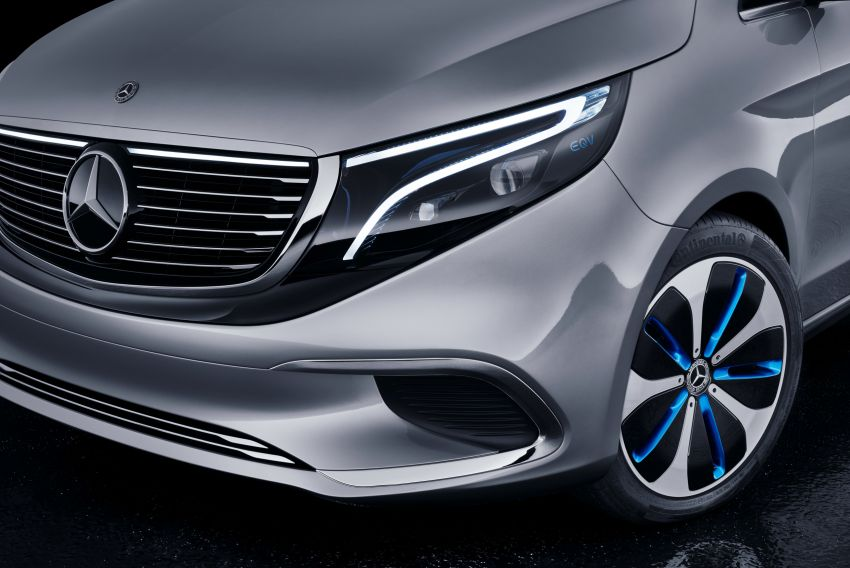 Mercedes-Benz Concept EQV unveiled in Geneva – full-electric MPV with a 400 km operating range Image #929935