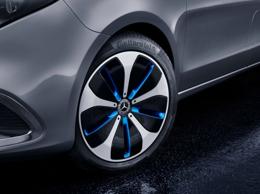 Mercedes-Benz Concept EQV unveiled in Geneva – full-electric MPV with a 400 km operating range Image #929928
