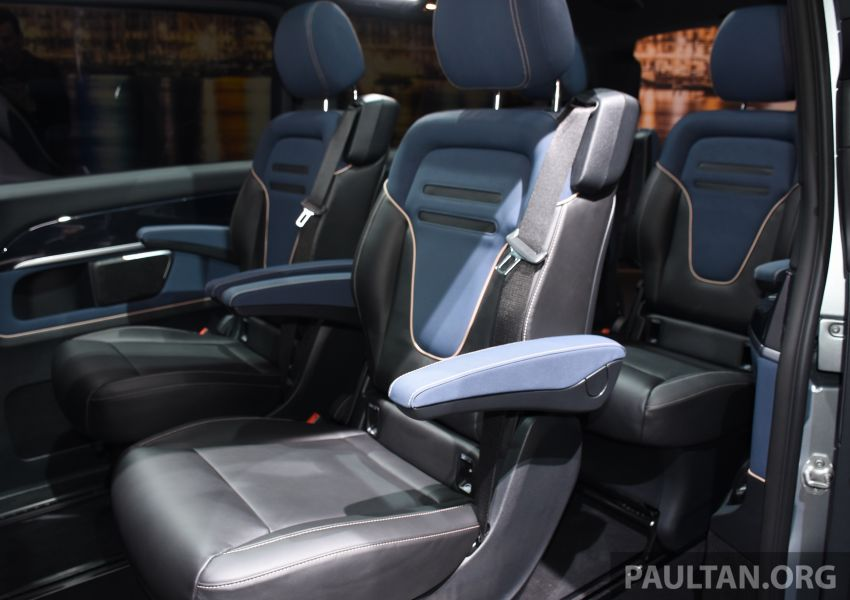 Mercedes-Benz Concept EQV unveiled in Geneva – full-electric MPV with a 400 km operating range Image #929866