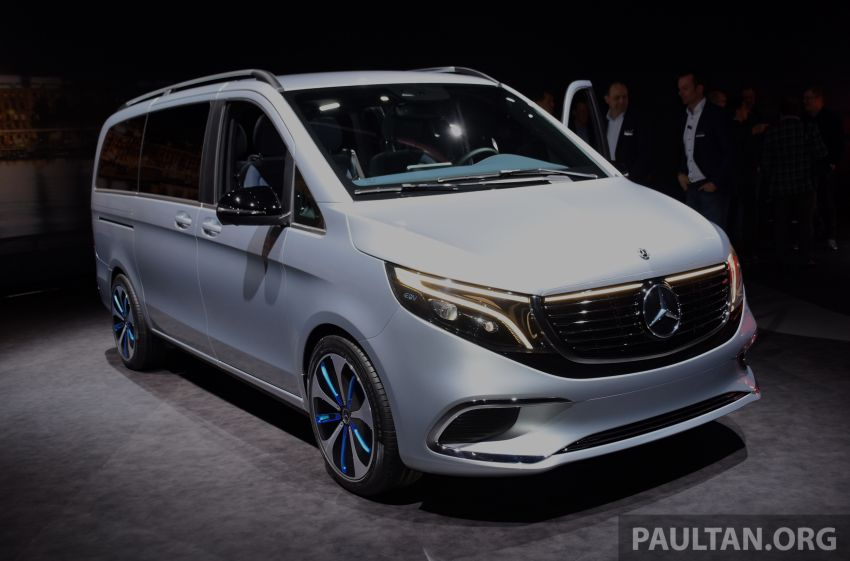 Mercedes-Benz Concept EQV unveiled in Geneva – full-electric MPV with a 400 km operating range Image #929860