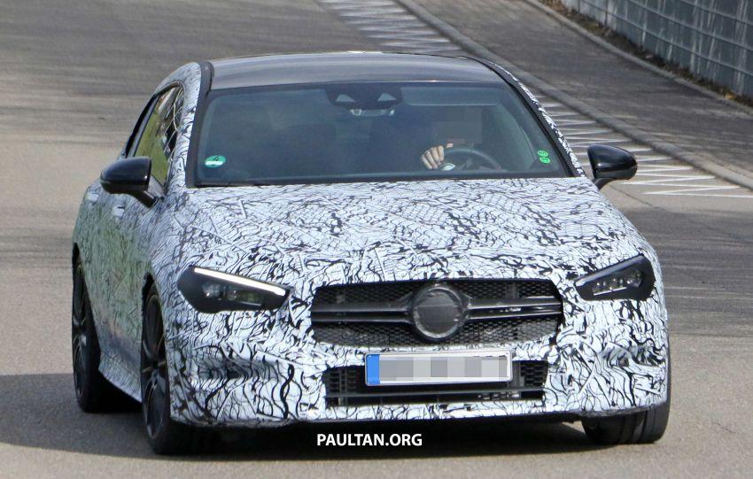 SPYSHOTS: Mercedes-AMG CLA35 Shooting Brake Image #933409