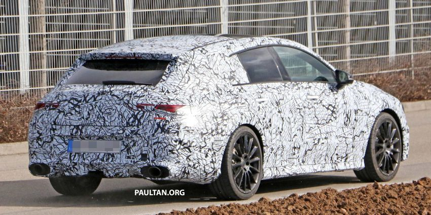 SPYSHOTS: Mercedes-AMG CLA35 Shooting Brake Image #933445
