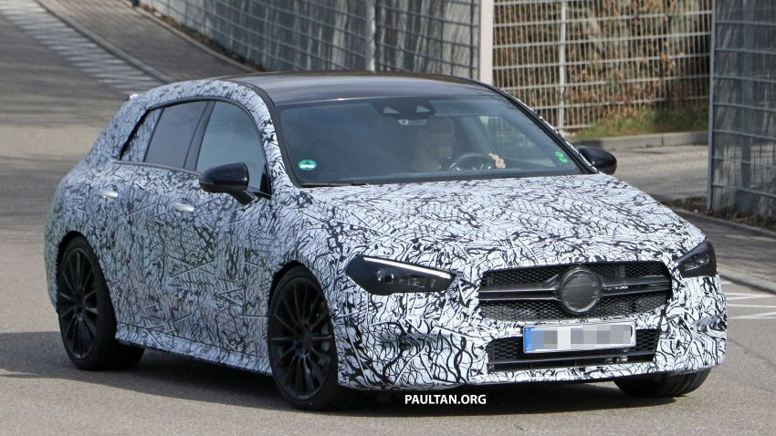 SPYSHOTS: Mercedes-AMG CLA35 Shooting Brake Image #933411