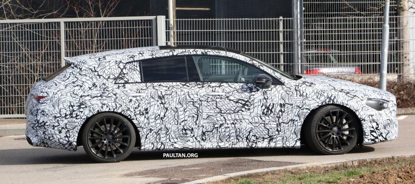 SPYSHOTS: Mercedes-AMG CLA35 Shooting Brake Image #933414