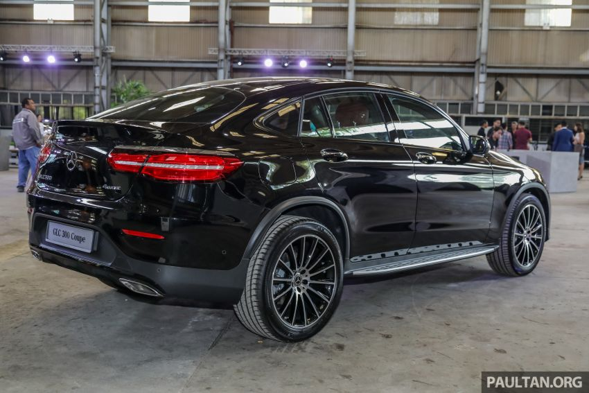 C253 Mercedes-Benz GLC300 4Matic Coupe debuts in Malaysia – CKD; estimated price from RM399,888 Image #937113
