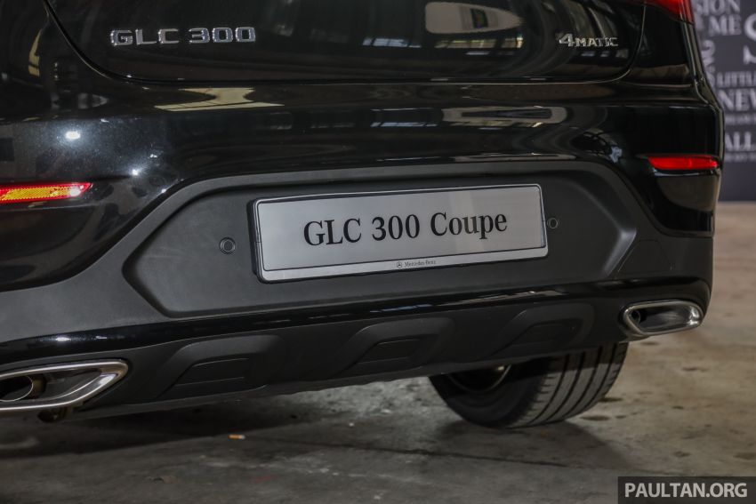C253 Mercedes-Benz GLC300 4Matic Coupe debuts in Malaysia – CKD; estimated price from RM399,888 Image #937134